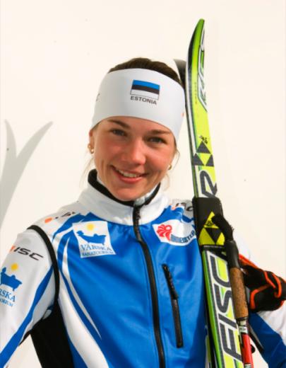 Kaija Udras. Foto: Eesti Suusaliit