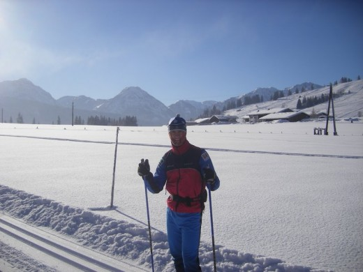 Suusapost tutvumas fantastiliste tingimustega . Foto: Skierpost.com